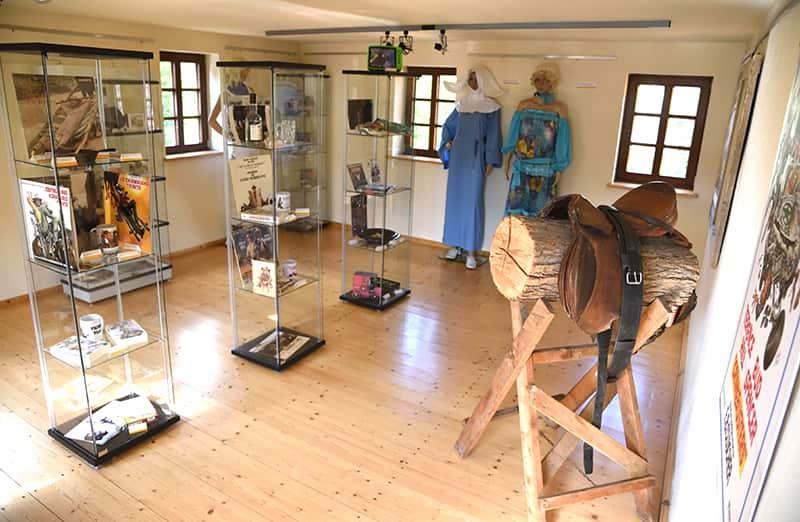 Terence Hill Museums Ausstellungsräume