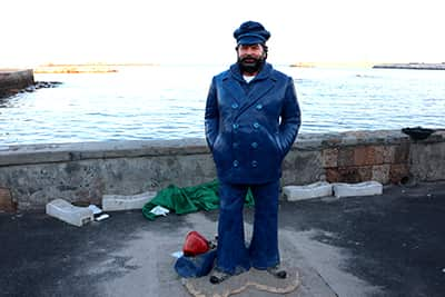 Bud Spencer Statue in Livorno