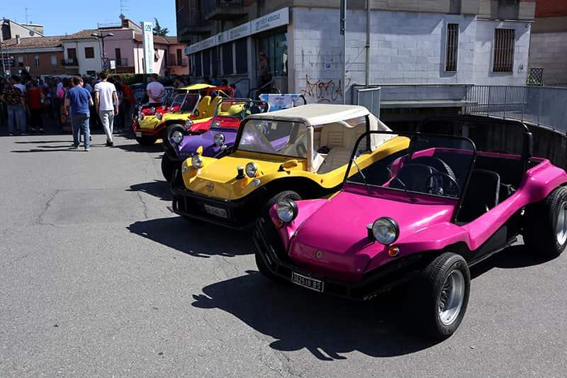 Buggy Parade auf der Bud Spencer Strasse