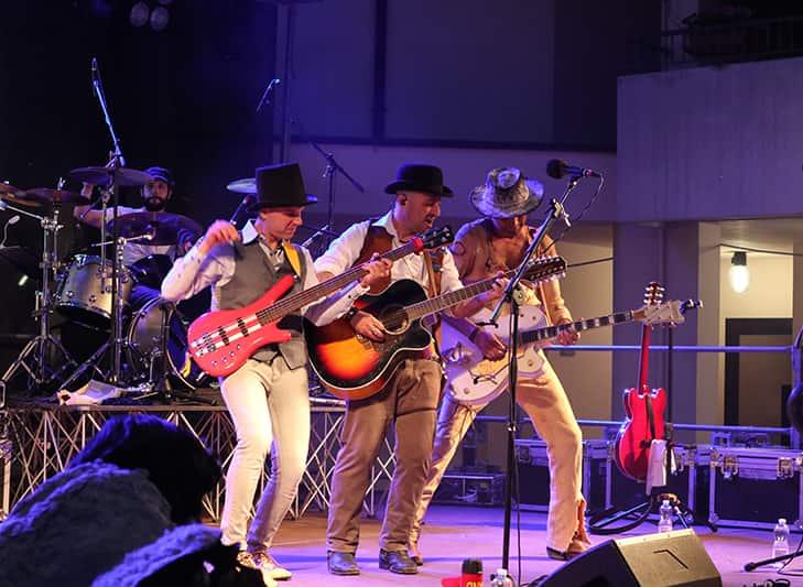 Dune Buggy Band bei der Bud Spencer Strassen Eröffnung