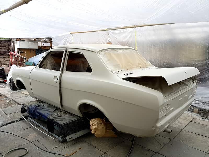 Ford Escort Mk1 - Vorbereitung zur Lackierung