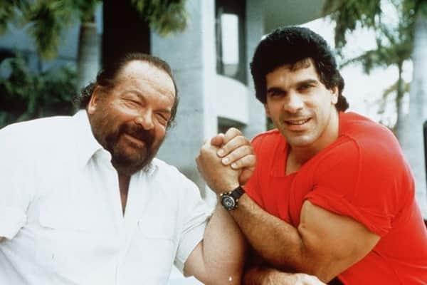 Bud Spencer und Hulk