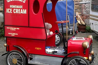 Bud Spencers Ice Cream Wagen