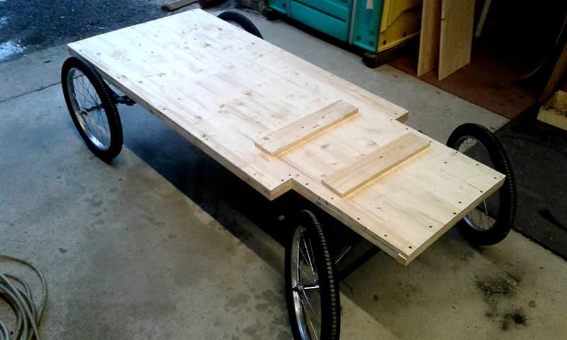Untergestell Eiswagen