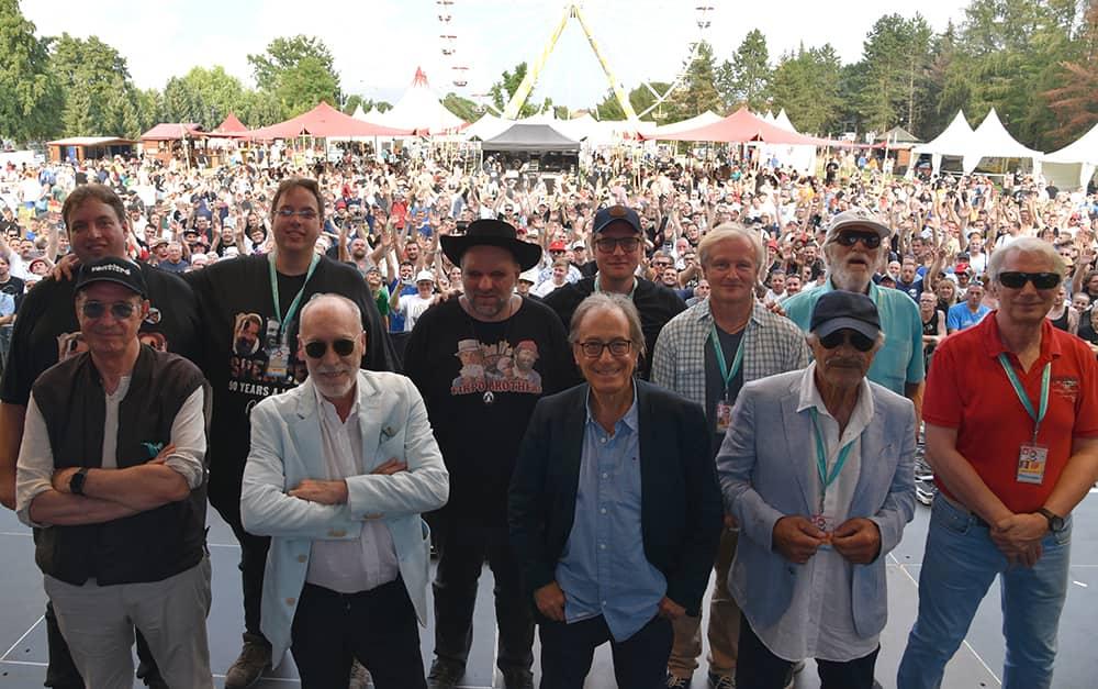 Spencerhill Festival 2019 - Gruppen Foto mit Stargästen
