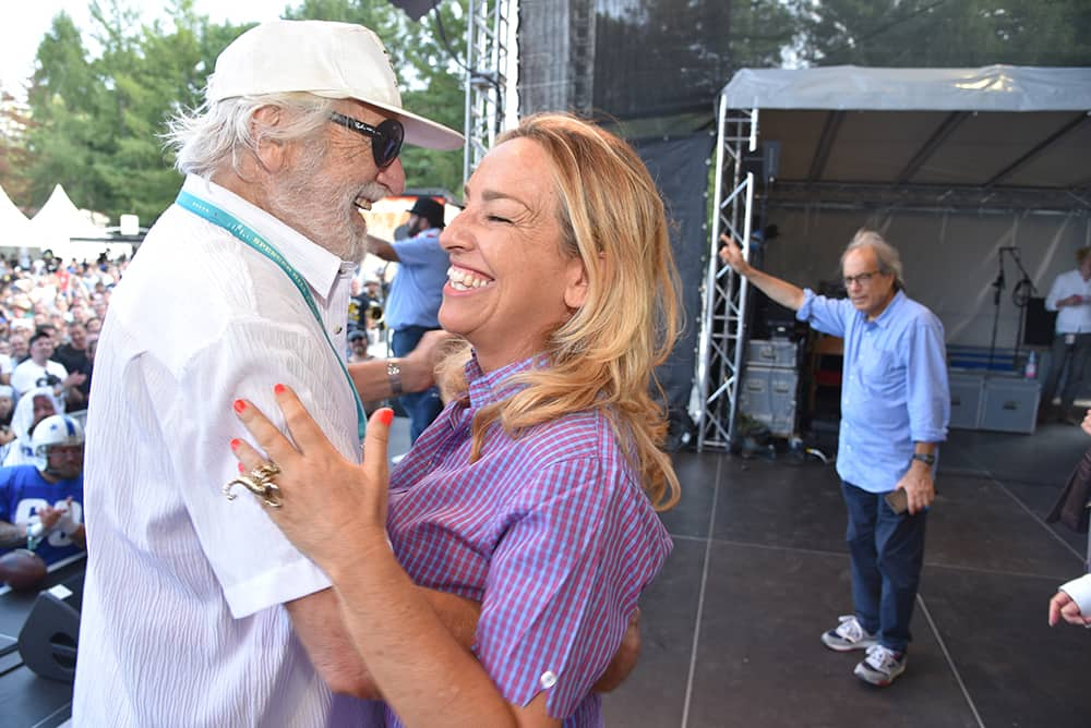 Riccardo Pizzuti mit Cristiana Pedersoli auf dem Spencerhill Festival 2019
