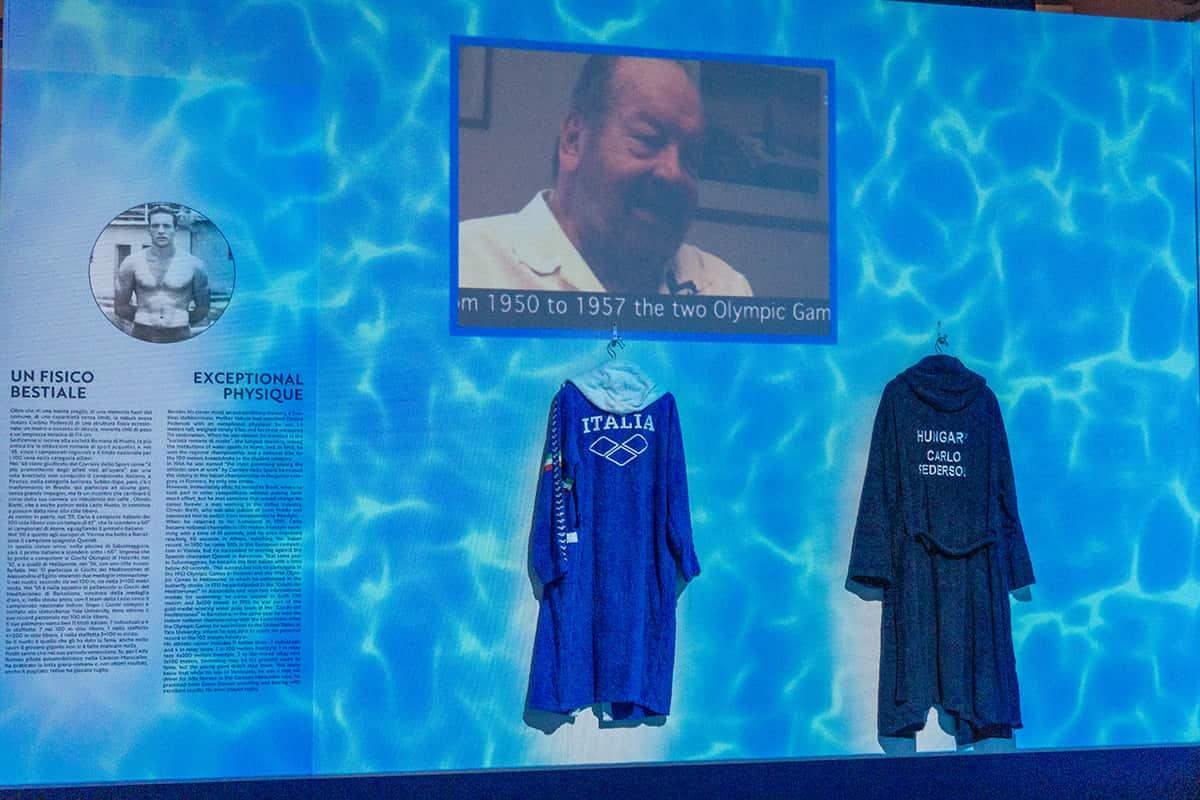 Bud Spencer Museum - Bud, der Schwimmer
