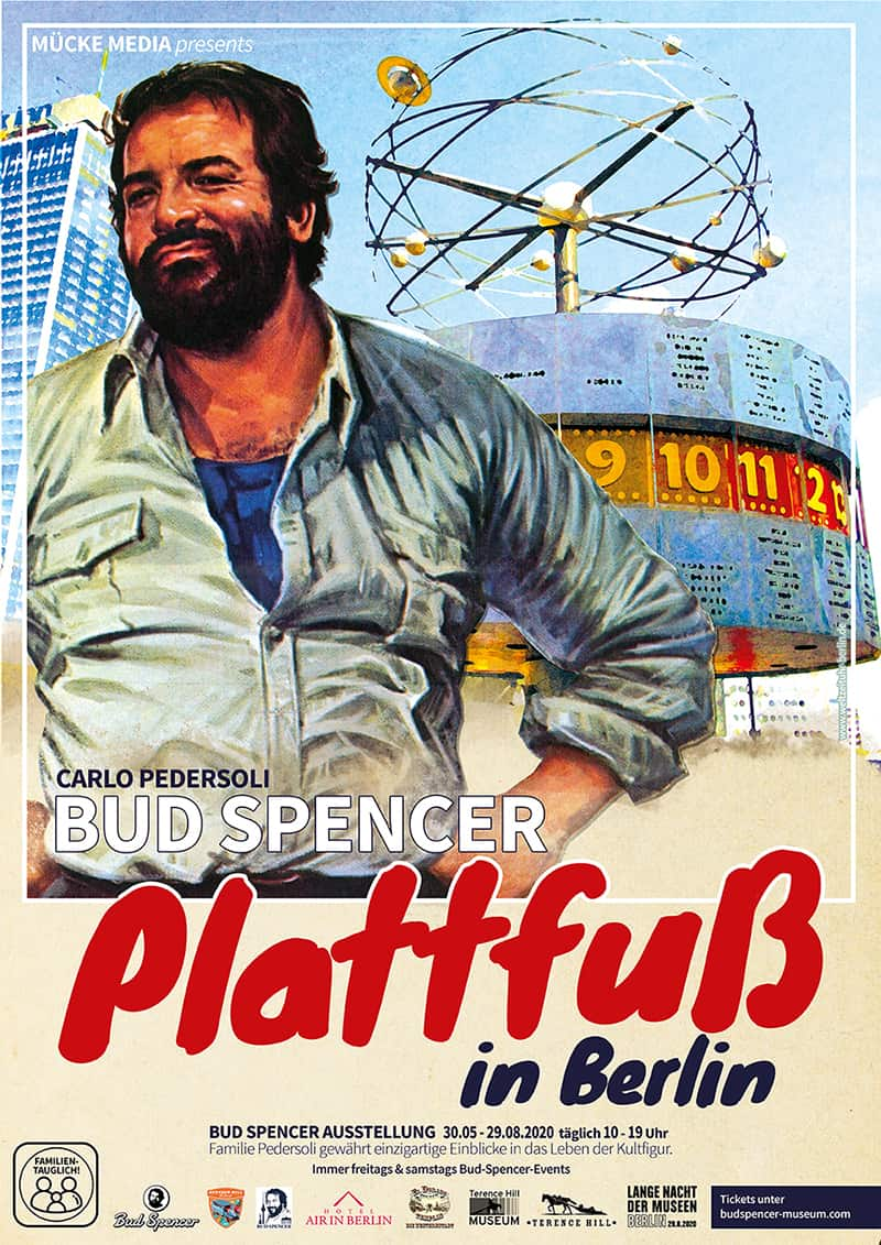 Bud Spencer kommt nach Berlin - Plakatmotiv