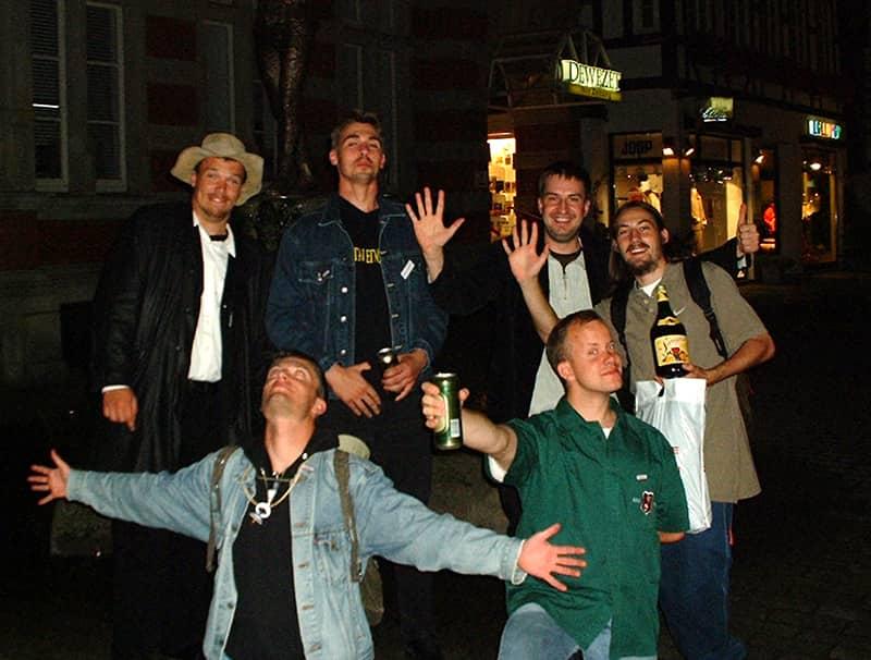 Bud Spencer und Terence Hill Fantreffen 2001 - Dass allererste!