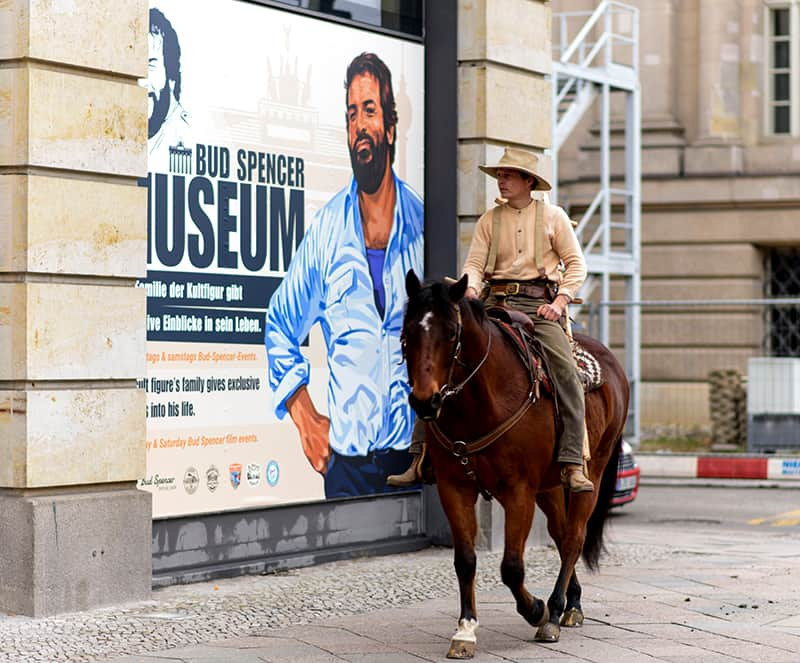 Bud Spencer in Berlin - Das Musem über sein Leben.