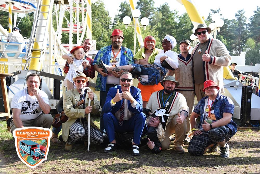 Kostüme beim Spencerhill Festival 2021