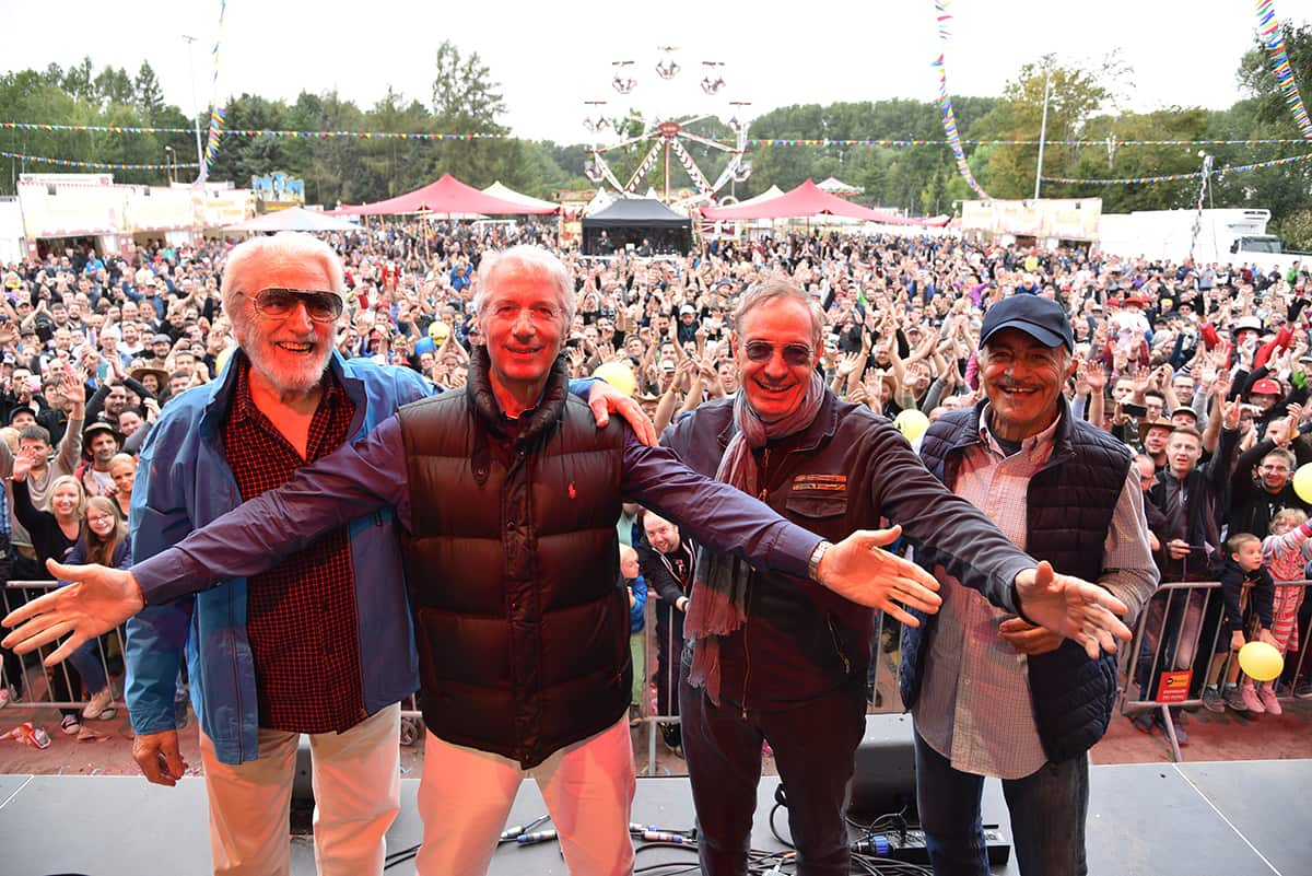 Oliver Onions, Riccardo Pizzuti, Sal Borgese auf dem Spencerhill Festival