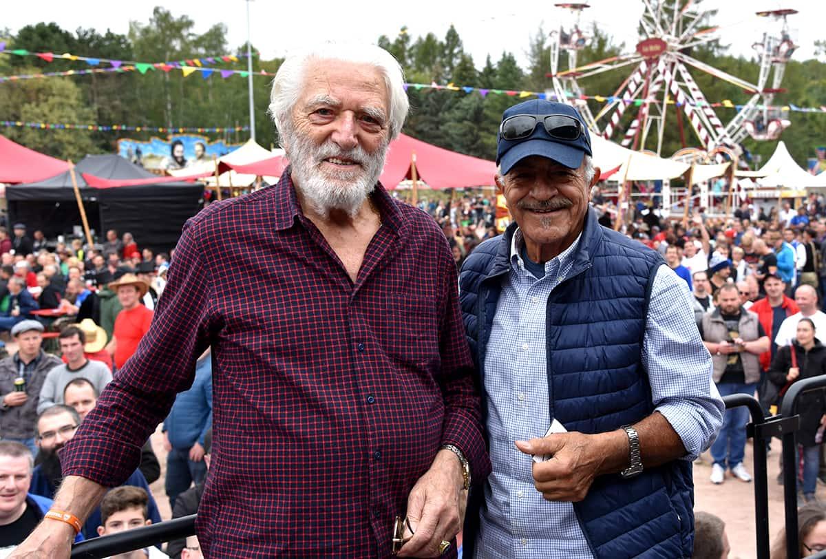 Riccardo Pizzuti und Sal Borgese auf dem Spencerhill Festival