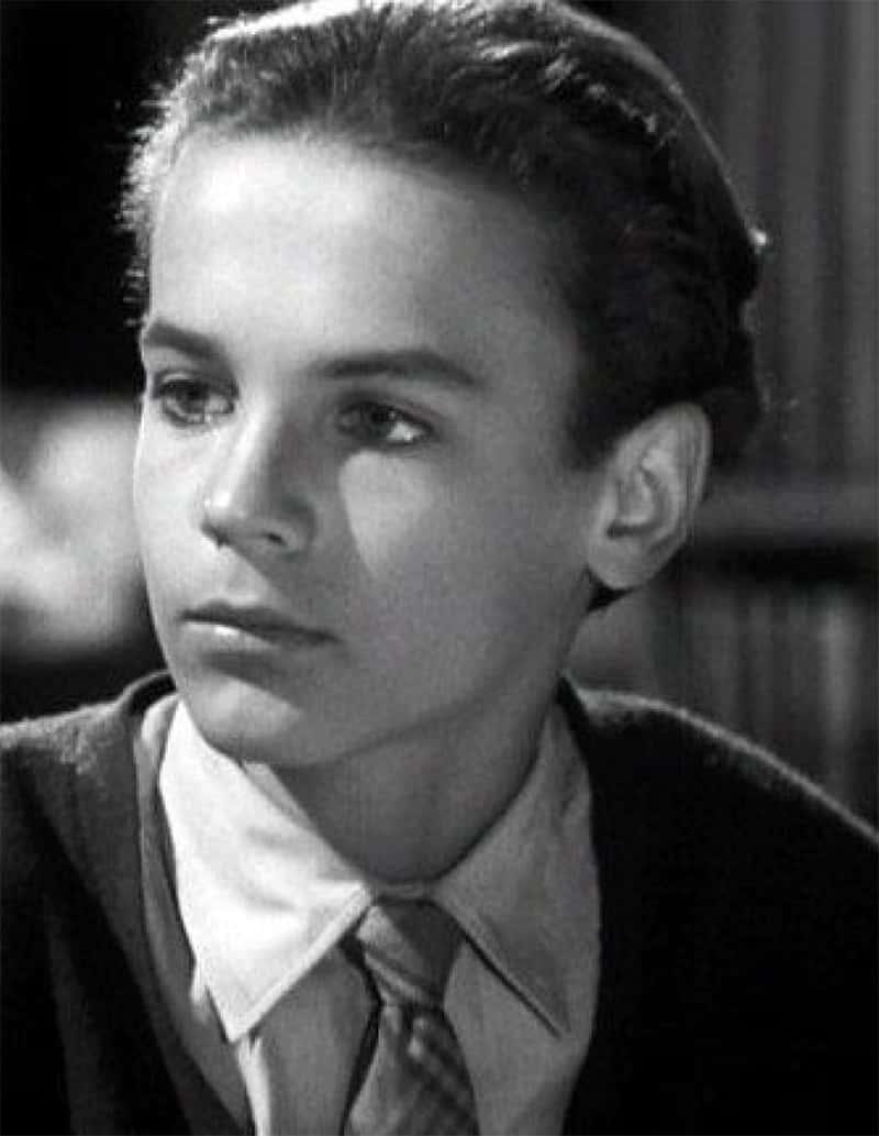 Terence Hill als Jugendlicher Mario Girotti