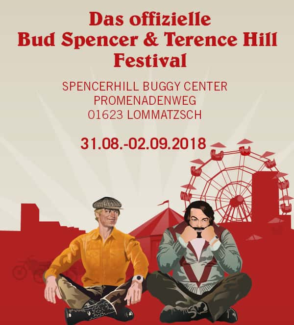 Bud Spencer und Terence Hill Festival 2018 - 31.08.-02.09. in Lommatzsch