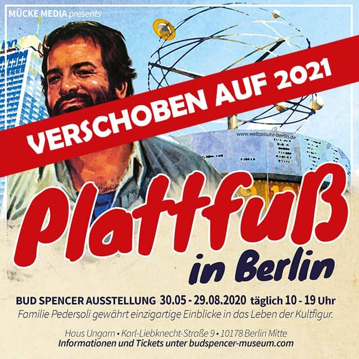 Bud Spencer in Berlin - Die Ausstellung - Verschoben auf 2021