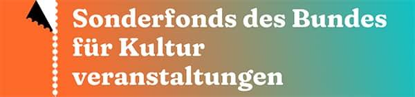 Sonderfonds des Bundes für Kultur und Veranstaltungen