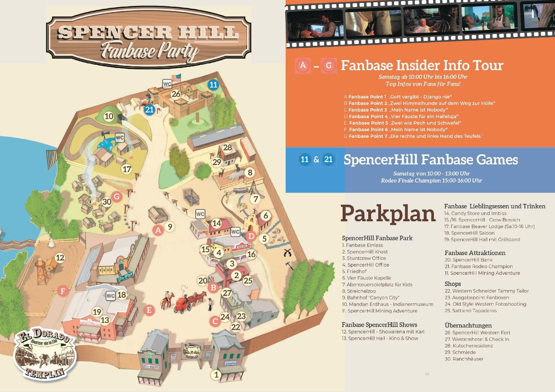 Parkplan Fanbase Party Eldorado Templin