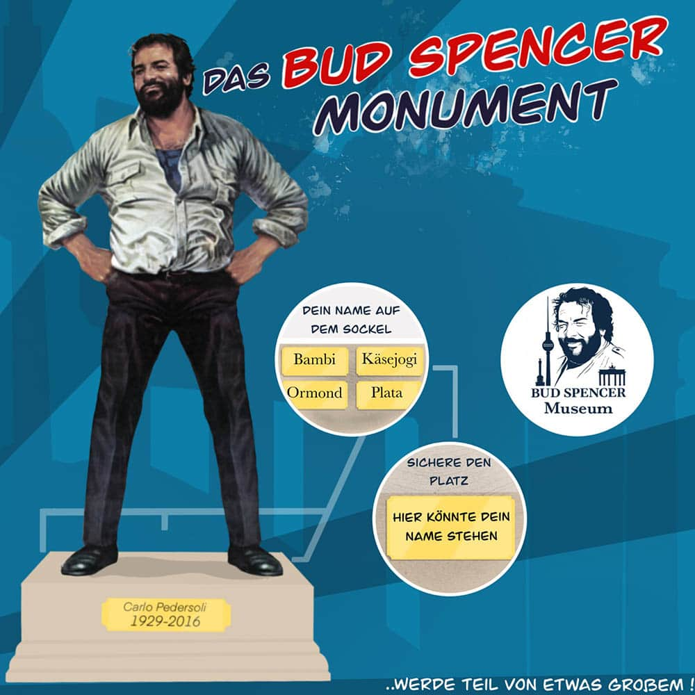 Bud Spencer Sockel