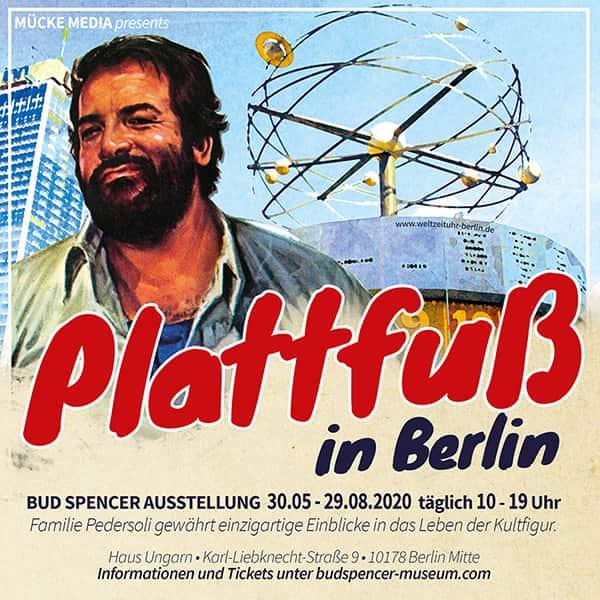 Bud Spencer in Berlin - Die Ausstellung am Alexanderplatz